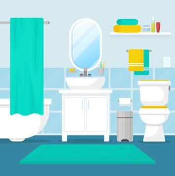 Bathrooms Services Symbol